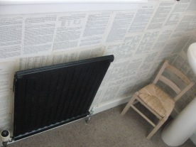 I painted the radiator black - it looks good but apparently may even increase the heat output?